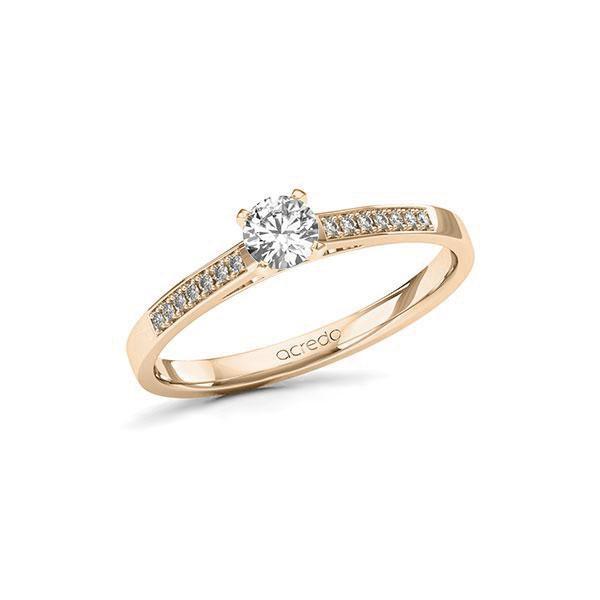 Verlobungsring Diamantring 0,32 ct. tw, si Signature Gold 585