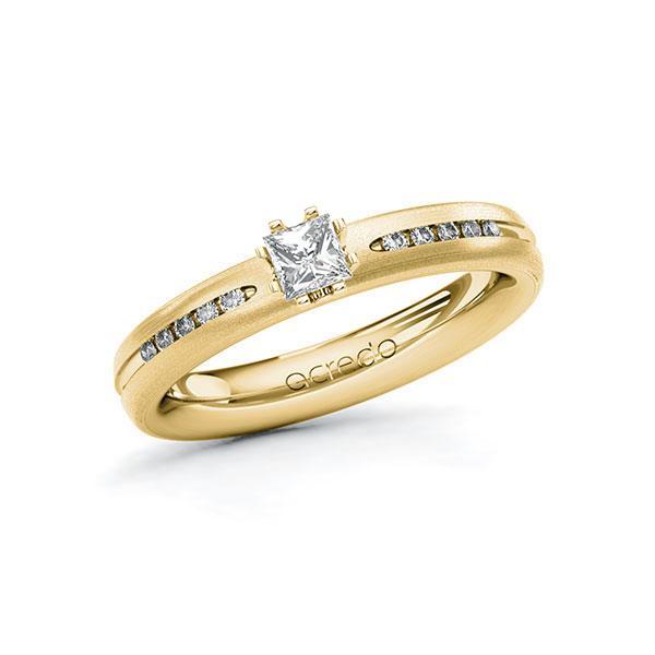 Verlobungsring Diamantring 0,33 ct. tw, si Gelbgold 750