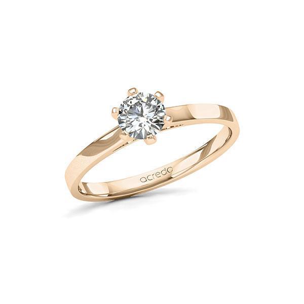 Verlobungsring Diamantring 0,5 ct. G SI Signature Gold 585