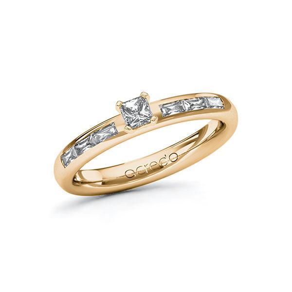 Verlobungsring Diamantring 0,5 ct. tw, vs Roségold 585