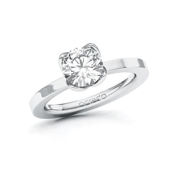 Verlobungsring Diamantring 1,5 ct. G VS Weißgold 585