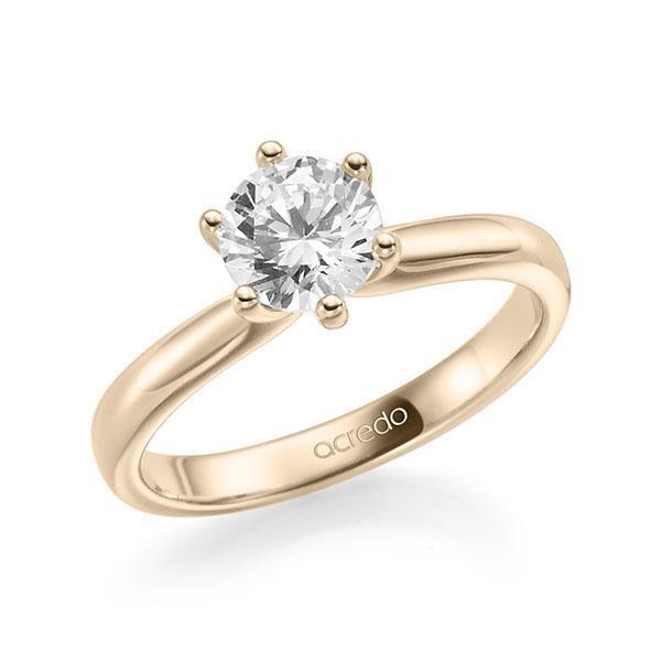 Verlobungsring Diamantring 1 ct. G SI Signature Gold 585