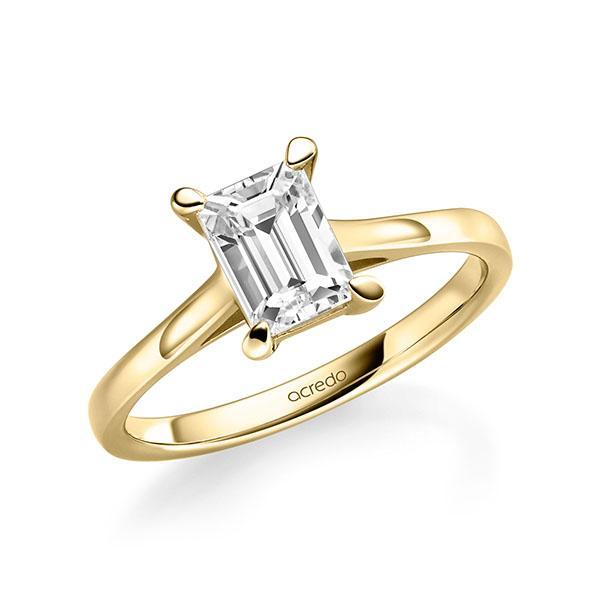 Verlobungsring Diamantring 1 ct. tw, vs Gelbgold 585