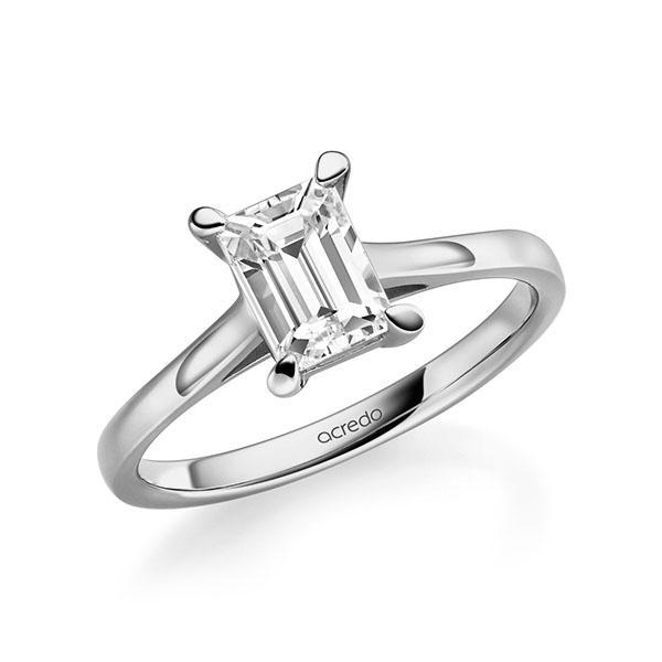 Verlobungsring Diamantring 1 ct. tw, vs Graugold 585