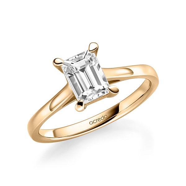Verlobungsring Diamantring 1 ct. tw, vs Roségold 585
