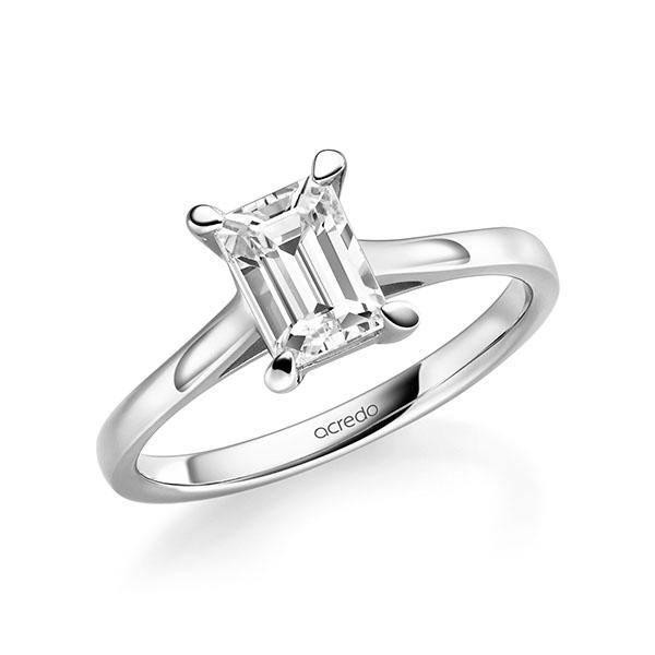 Verlobungsring Diamantring 1 ct. tw, vs Weißgold 585